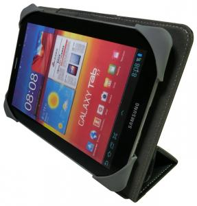 "Z601-8 Universal Folio Case 7"" - 8"" With Soft Silicone Elastic Holder"