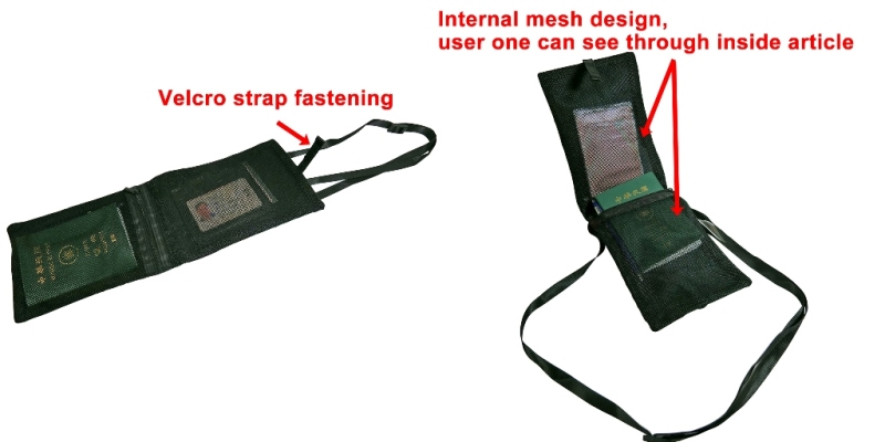 P-171019 Super Light Travelling Neck Pouch
